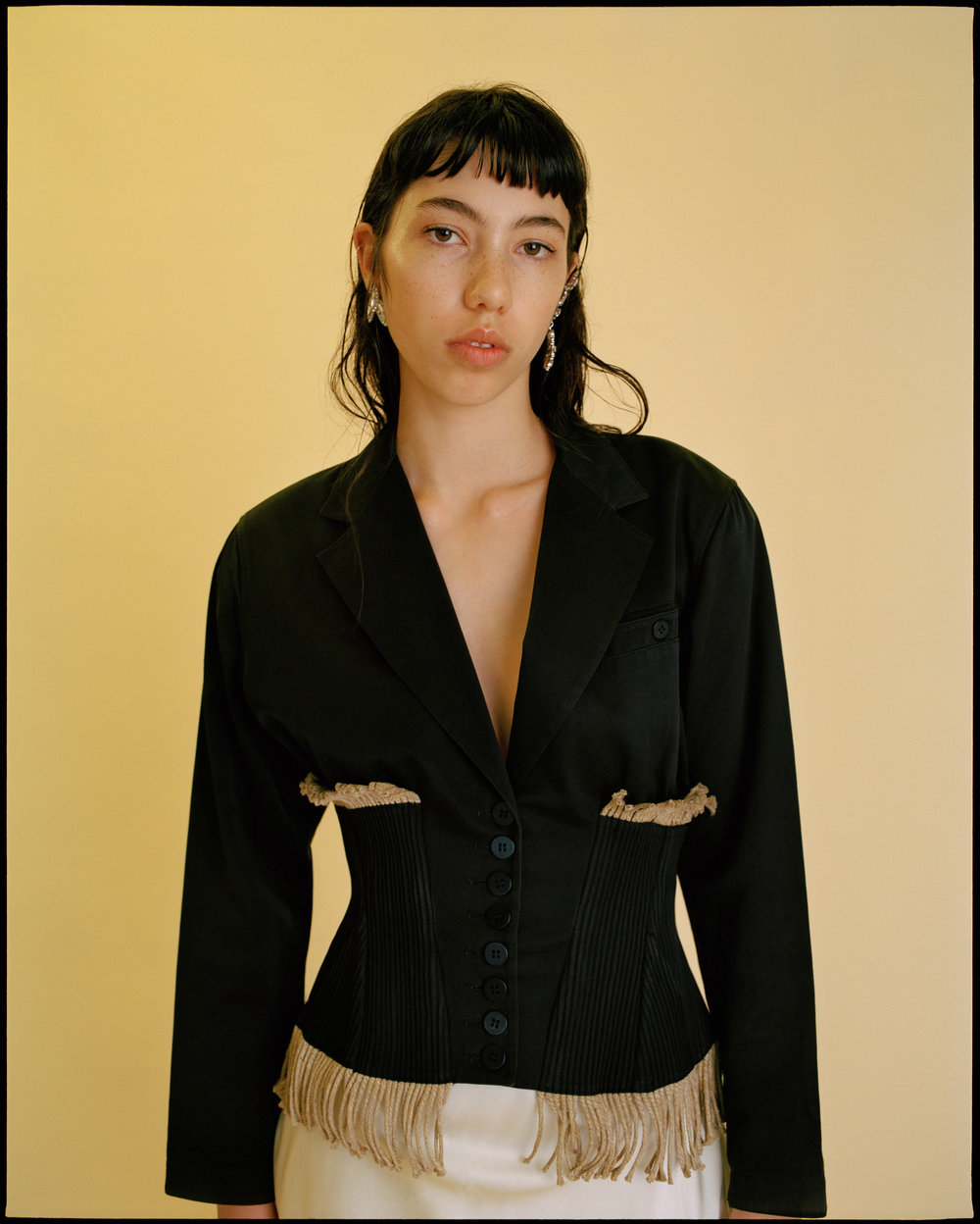 jacket Azzedine Alaia,jewellery TOPSHOP