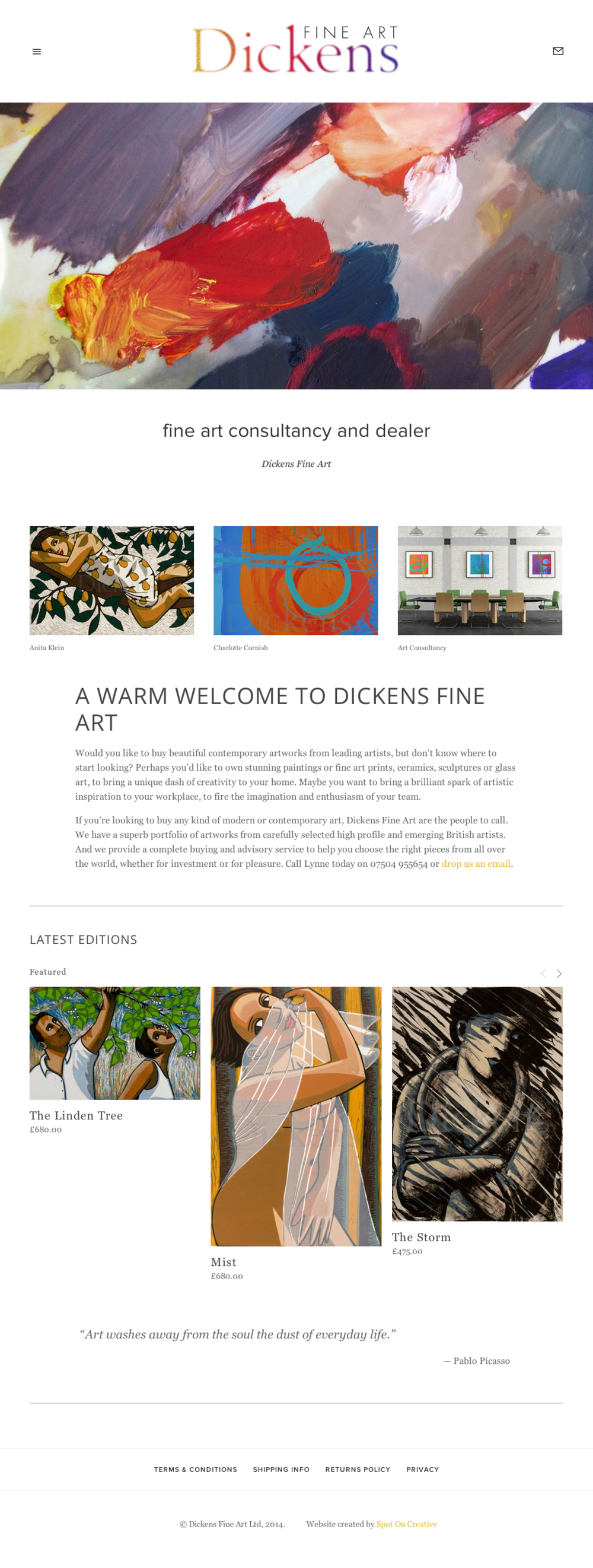 dickensfineart_website_by_spotoncreative