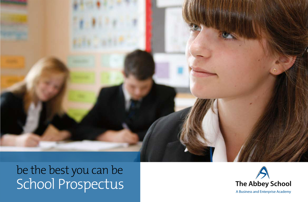 Click the front cover image to view this secondary school prospectus online.