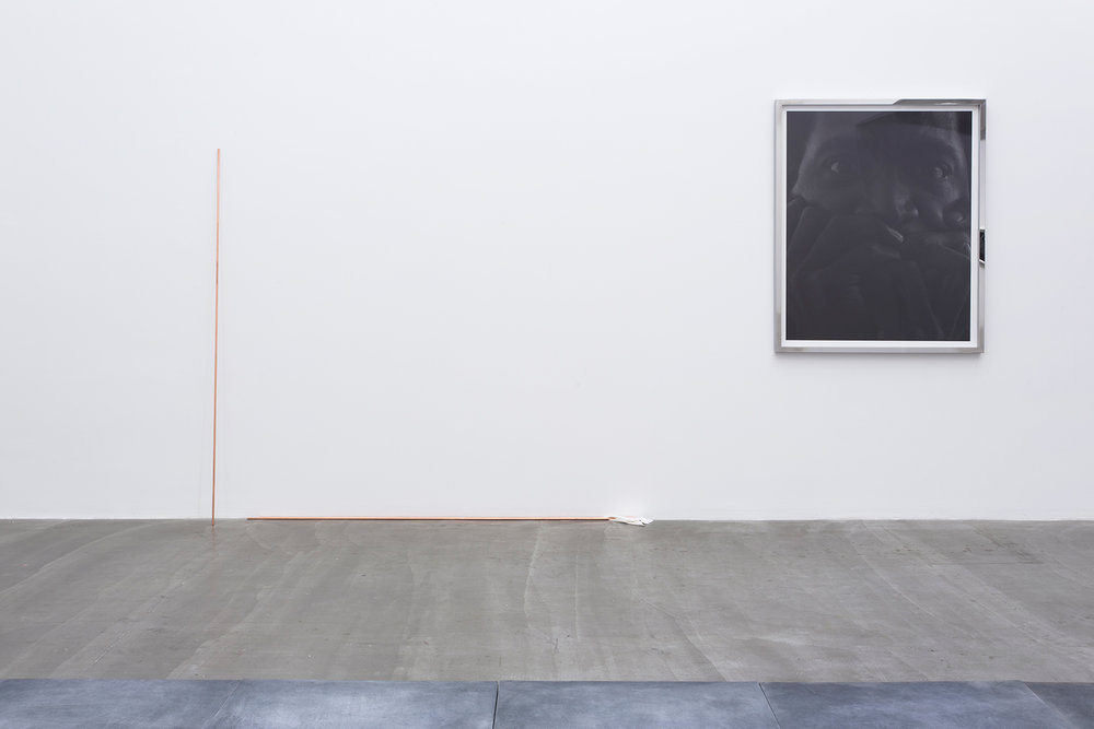 Tendon , 2015. Installation view, Galerie Urs Meile, Beijing, China, 2015.