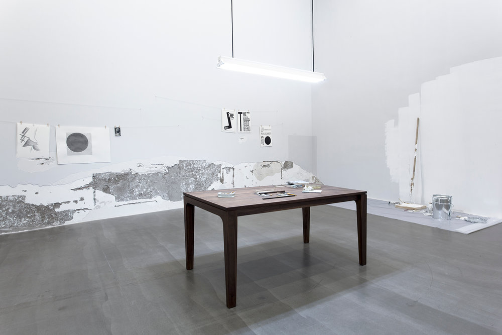 The Aesthetics of Resistance, 2015. Installation view, Galerie Urs Meile, Beijing, China, 2015.