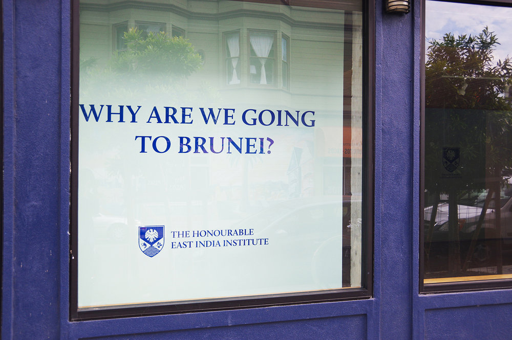 Why are we going to Brunei?