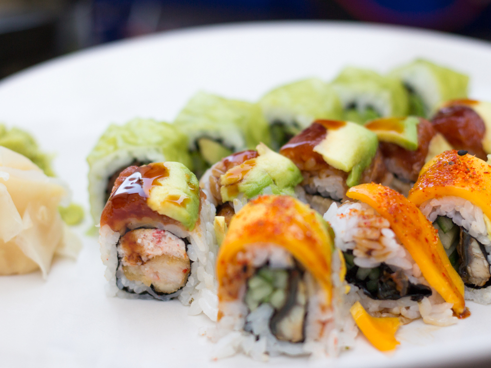 Sushi Platter from NoMi Garden. Photo by Butter ...