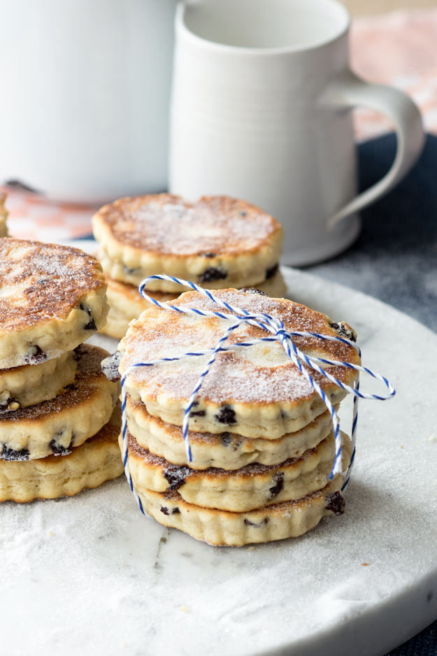 Little Welsh Cakes via The Worktop