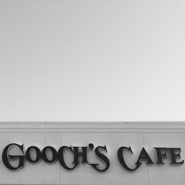 How did anyone think this was a good name for a place? Can anyone vouch for Mrs. Gooch's? It doesn't sound appetizing. (Taken with instagram)
