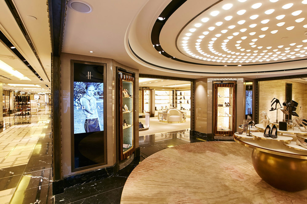 Shoe Heaven — Harrods, with David Collins / Woods Hardwick