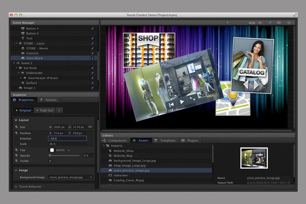 VIVID Digital Retail IT and media platforms