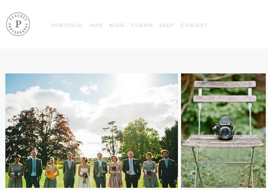 Katharine is based in South London, but as you'll see she's not restricted to that area! The beautiful difference in her work is that she shoots on film. That's right, all on film! She's got aa wonderful portfolio and you'll truly be smiling after seeing her work.   Check her out here