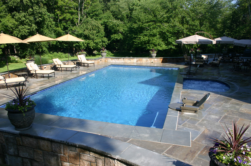 Ref ID  - Swimming Pool and Spa Design and Construction by Haggerty Pools of Norwalk, CT