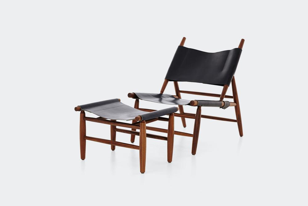 Triangle Chair Wohlert Triangle Chairu0026ottoman1 ...