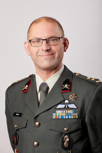 Luitenant-kolonel Ted jansen