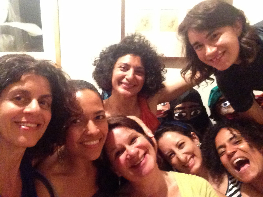 Women theater activists meet in NYC.
