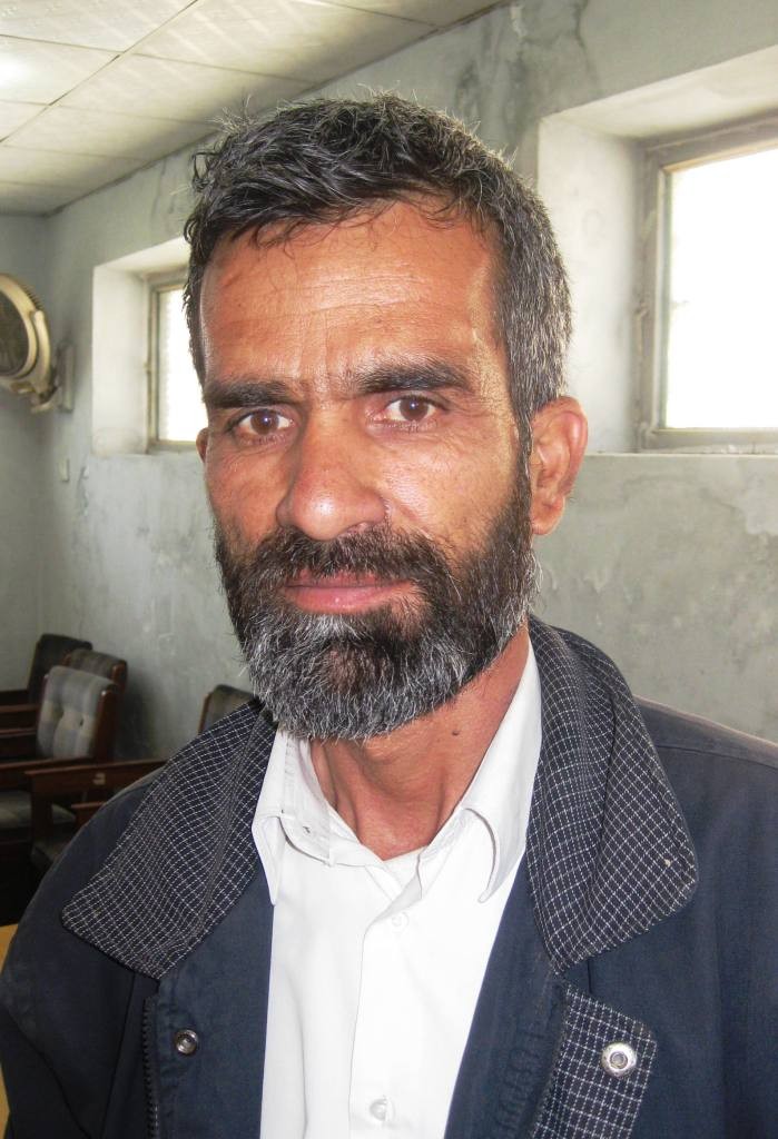 Safiullah, a driver at AEPO. He has 6 girls and 2 boys. He told me when I'm ready to have kids, I should only have two!