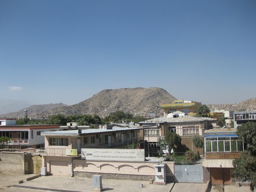 Quiet Kabul.