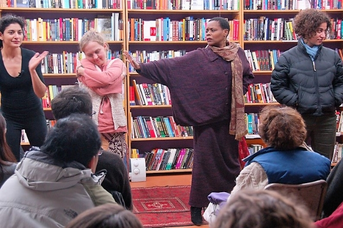 Performance, Revolution Books, Berkeley CA, 2007