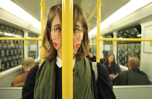 oau :   Doublefaced  Sebastian Bieniek