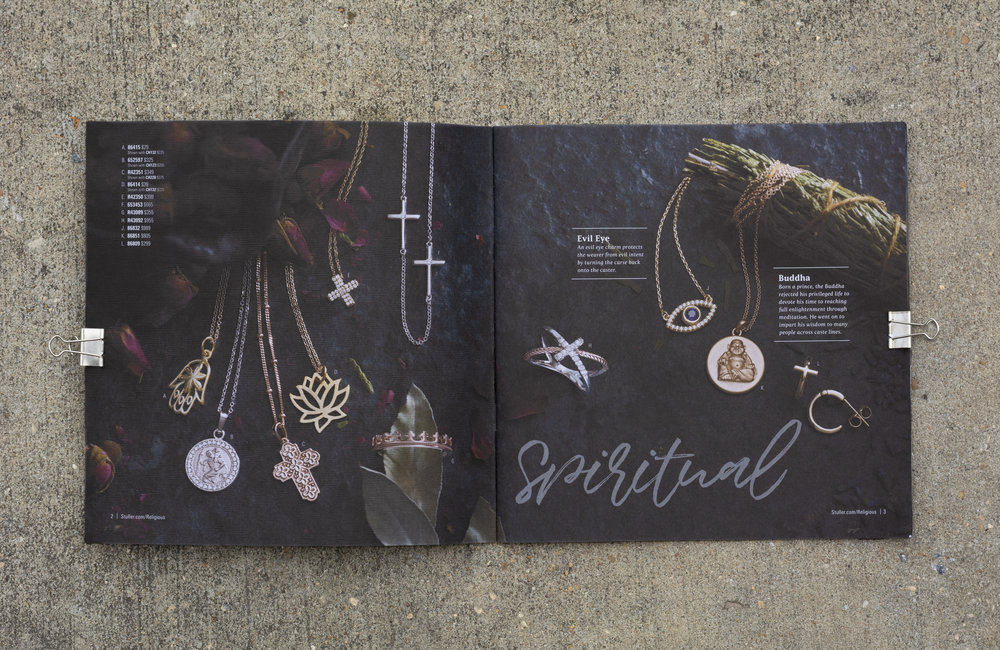 Religious Jewelry Look Book