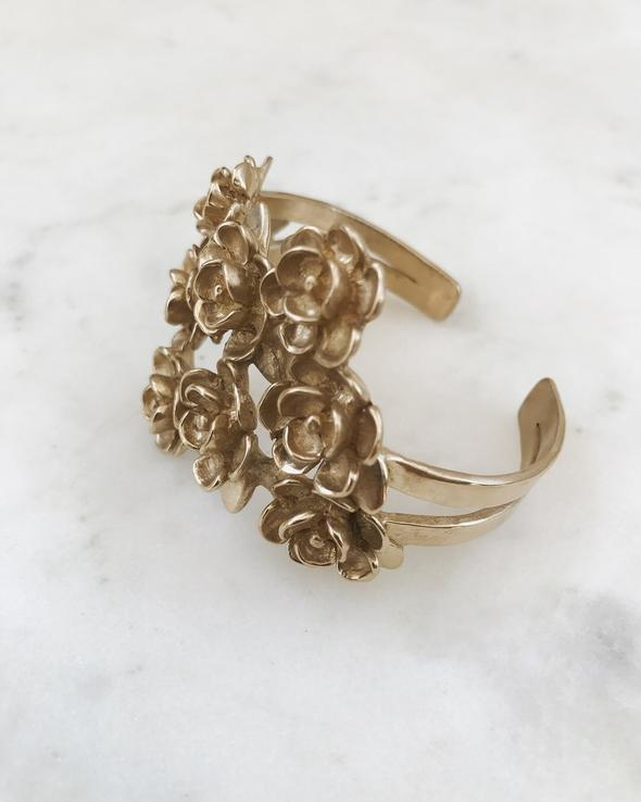 """""""Magnolia Corsage Cuff"""" by  Mimosa Handcrafted"""