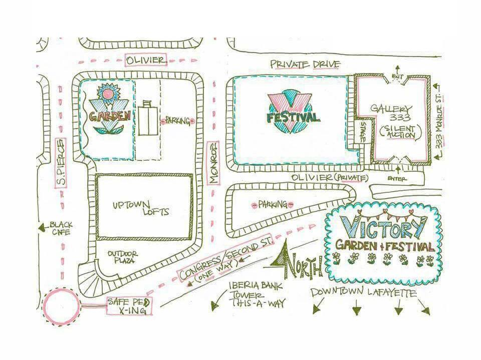 Map for Victory Festival 2018