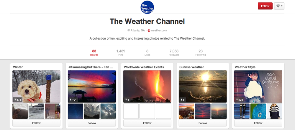 The Weather Channel - on Pinterest