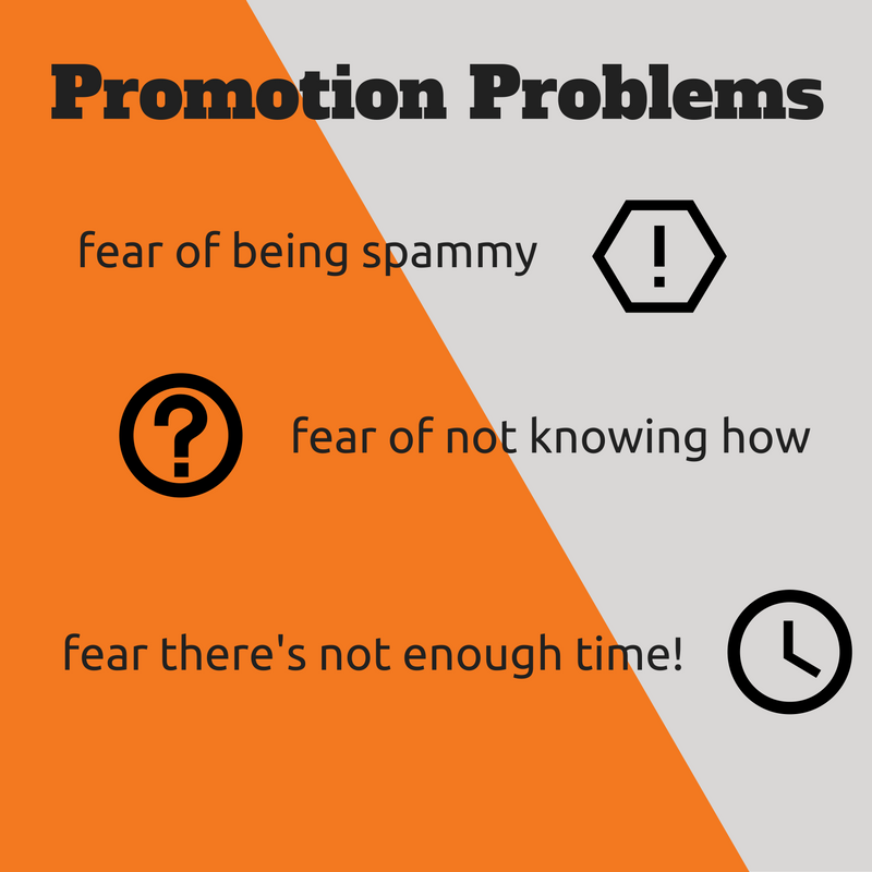 Time, knowledge and hesitation - the 3 major barriers to content promotion