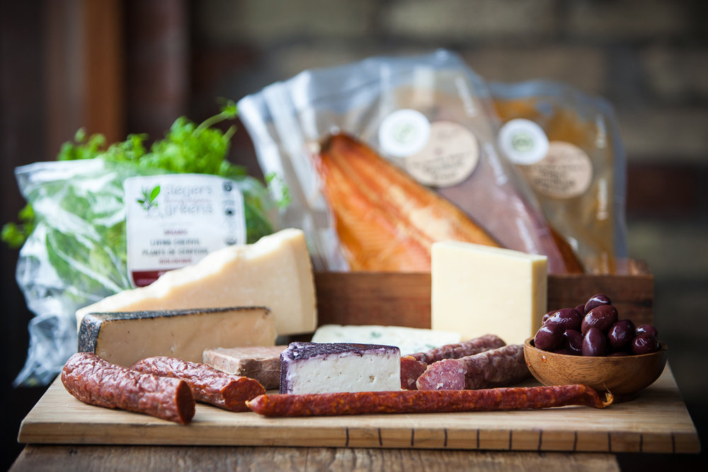 CHEESE & CHARCUTERIE - $12.50-$15 / PERSON(price will vary if served as main meal or as one of several options)Carefully selected, small batch, cured meats and cheeses from Ontario and Quebec with International selections available
