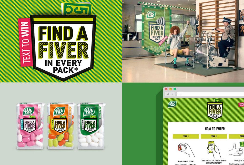 Tic Tac Find A Fiver