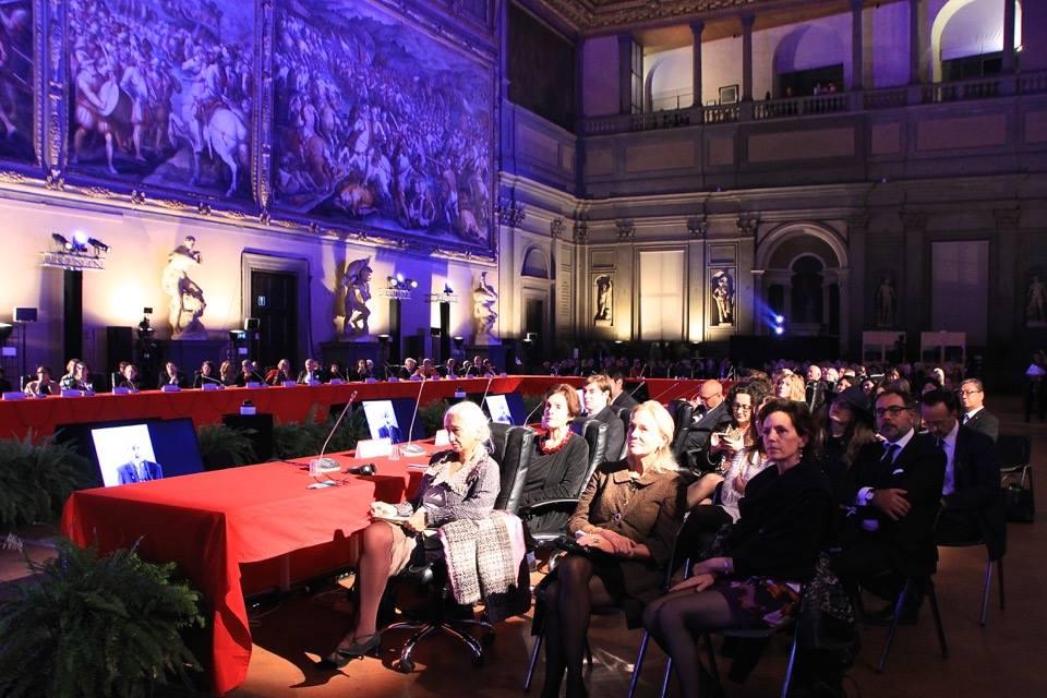 """La cerimonia del """"Fiorino d'Oro"""" a Palazzo Vecchio"""