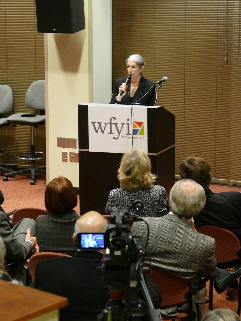 Conferenza stampa ad Indianapolis