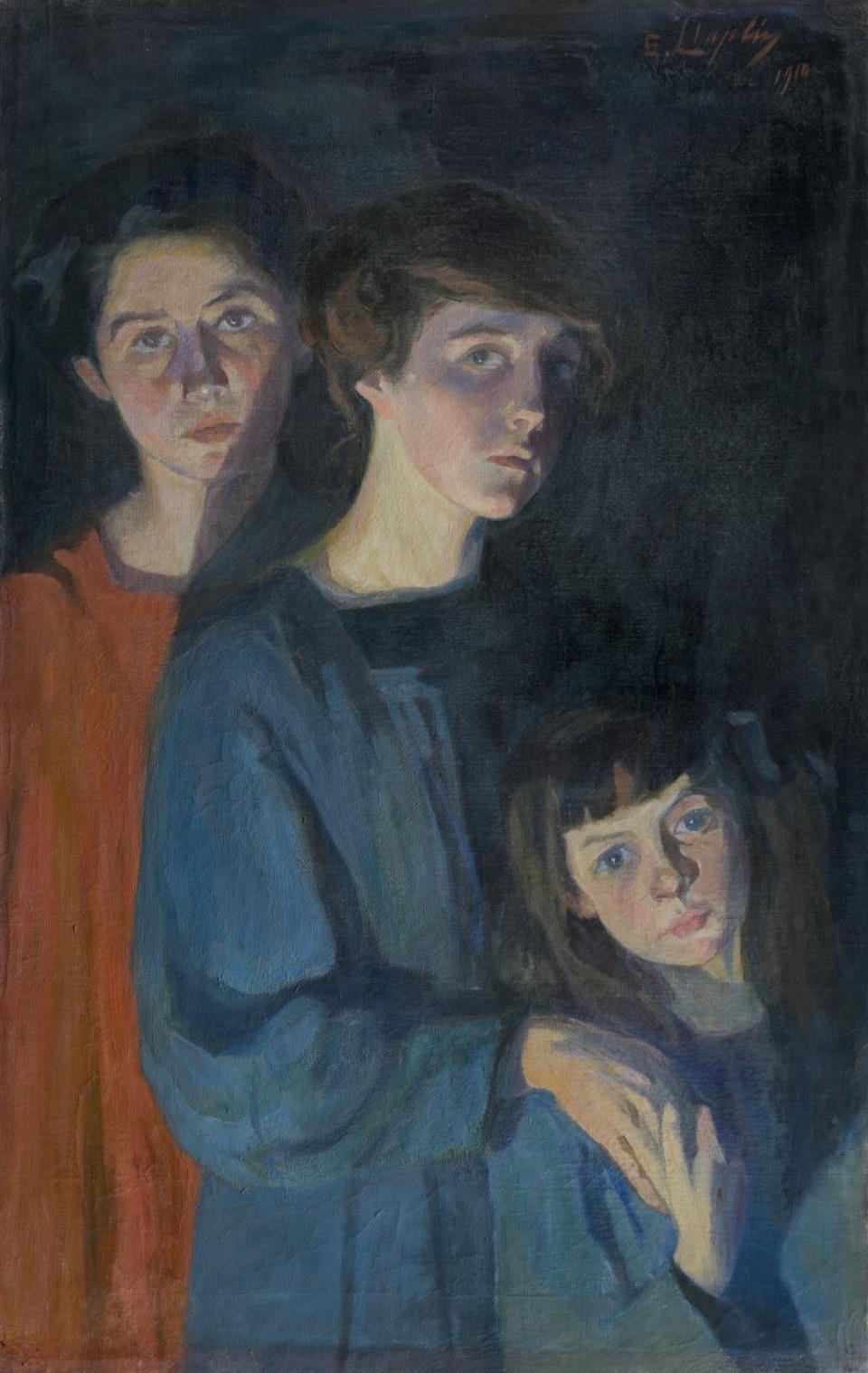 """Le """"Tre sorelle"""" della Chaplin, restaurato nel 2014"""