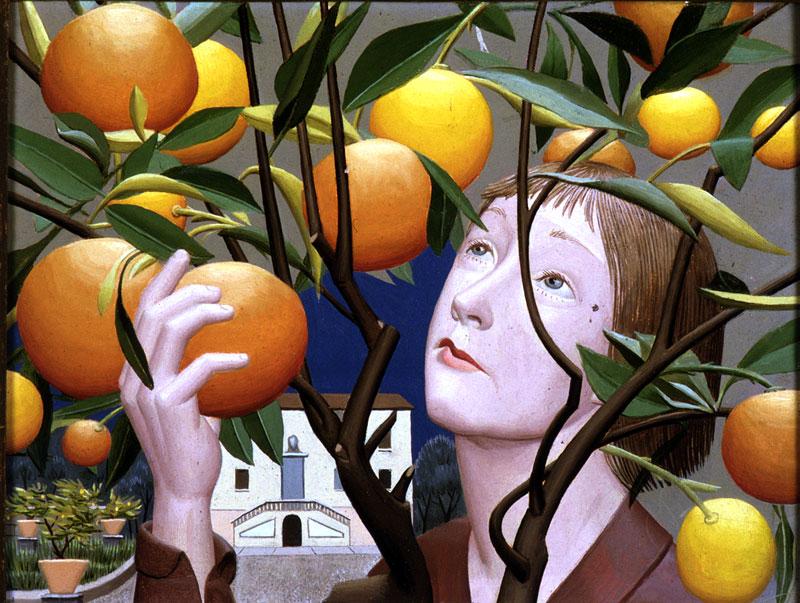 """Le """"Arance"""" di Edita Broglio, 1955"""