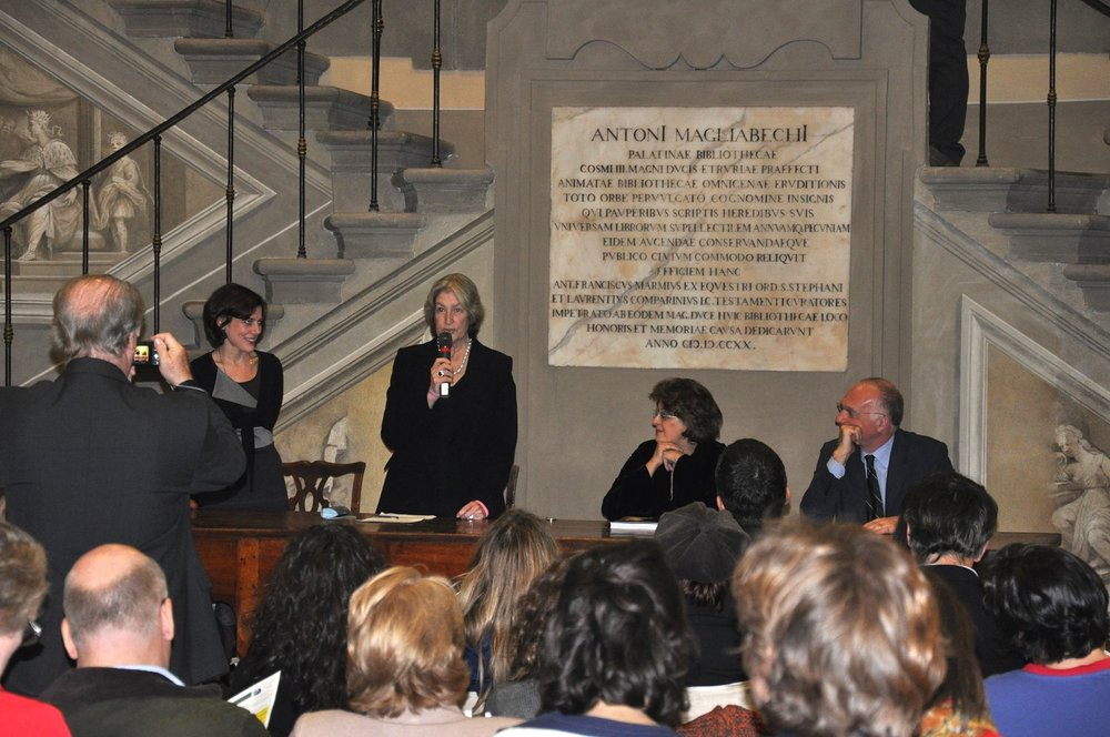 Invisible Women presented at the Uffizi Library