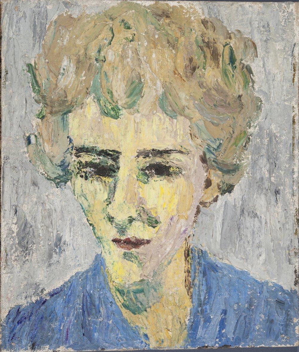 Self portrait, Adriana Pincherle, Gabinetto Vieusseux