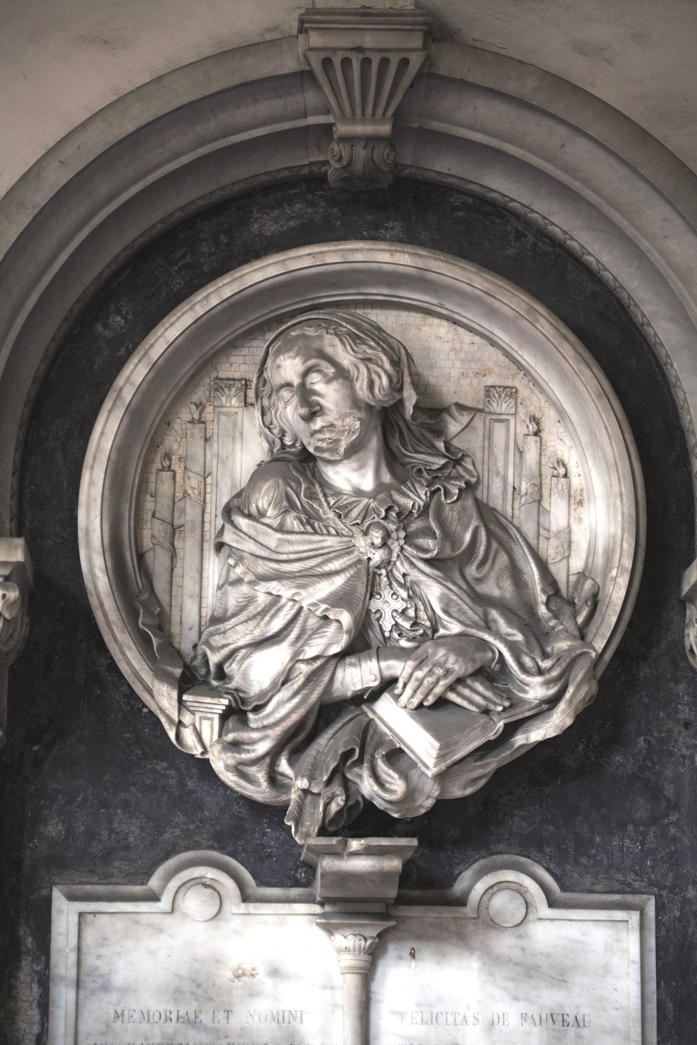 Burial Monument for Anne De Fauveau (1859)