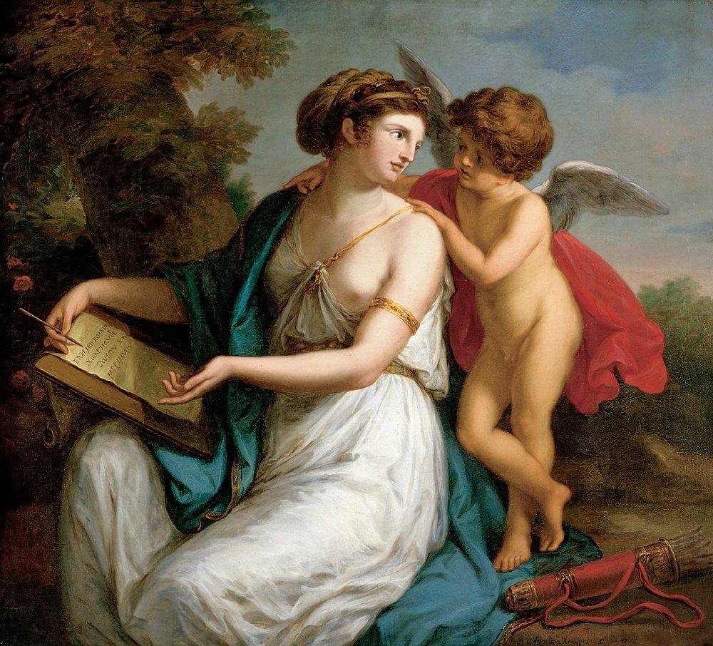 Restorer Rossella Lari works to restore a Saint Catherine by Florence's first artist, Plautilla Nelli.