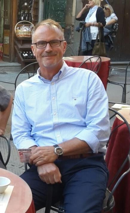 Cay Fortune nel 2015 col vicepresidente di AWA Bob Hesse
