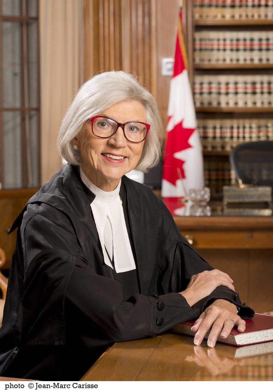 Presidente della Corte Suprema del Canada Beverley McLachlin