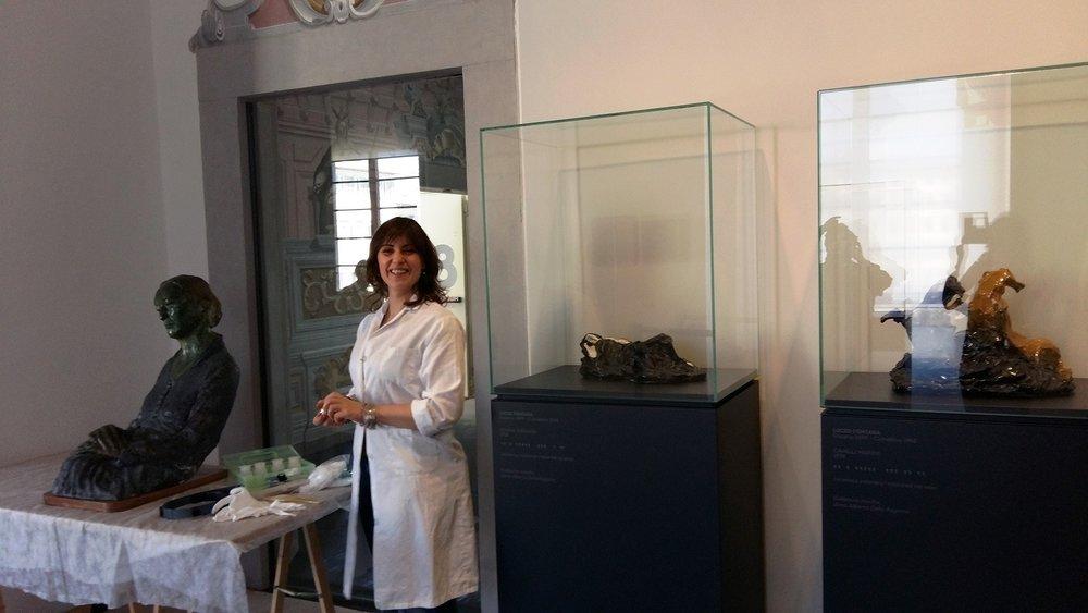 Restauro al Museo del Novecento di Firenze