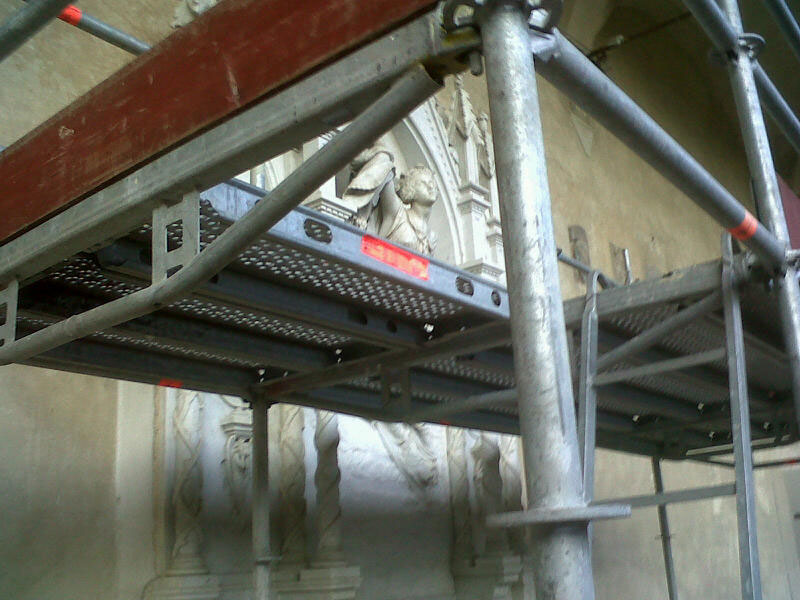 Artist Félicie de Fauveau's masterwork under restoration at Santa Croce
