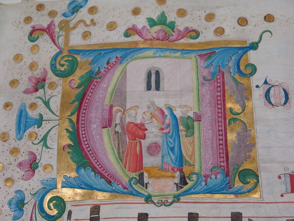 Presentazione di Gesù al Tempio, di Plautilla Nelli