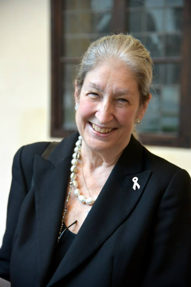 Jane Fortune, AWA's founder and chair