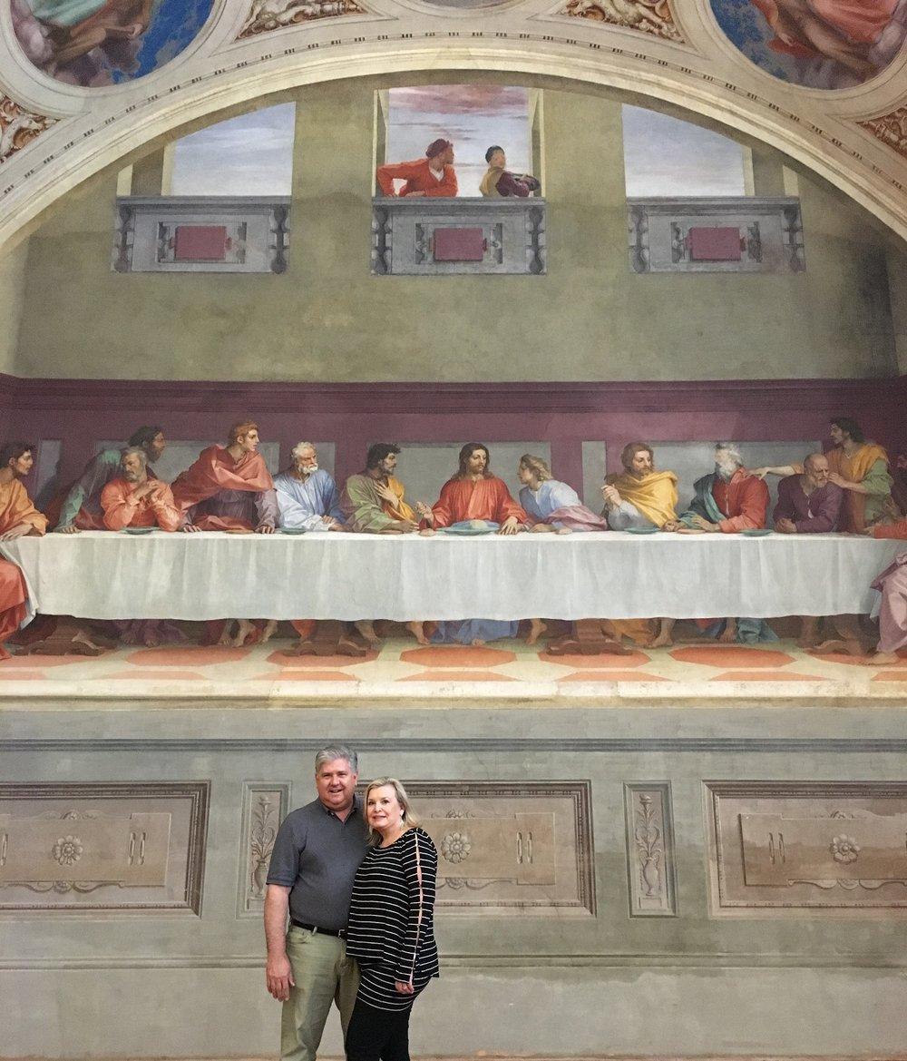 Doug e Connie Clark al Museo San Salvi di Firenze Un centro per le opere di Plautilla Nelli