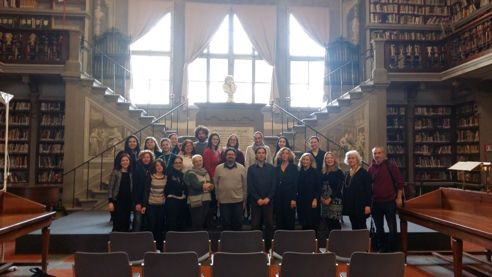Our 2018 Women's Day event at the Uffizi Library with the Uffizi Galleries and WikiDonna