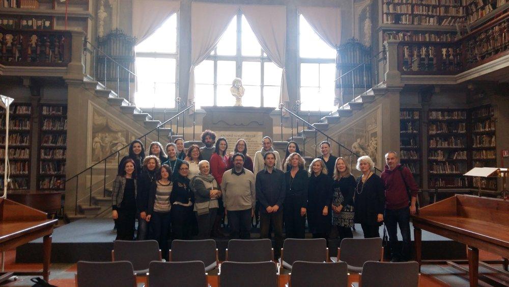 Il nostro evento nella Giornata delle Donne 2018 presso la Biblioteca degli Uffizi, con le Gallerie degli Uffizi e WikiDonna