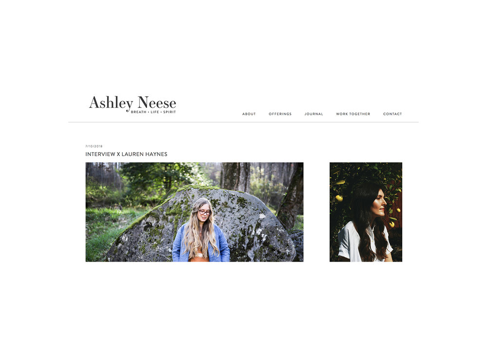 Ashley Neese's Blog