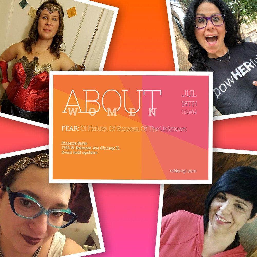 TOP LEFT and then clockwise: Marlisa Elizabeth, Penny Shack, Alma Vera, Ann Riordan