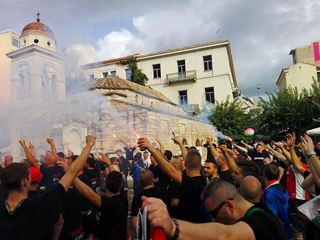 Athén 2015-ben. Pár nap és újra útra kelhetnek a magyar fanatikusok. Várhatóan 5-600 fő kíséri a válogatottat Görögországba.