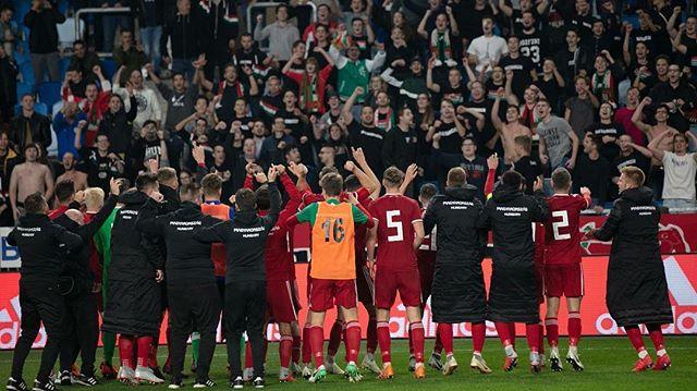 Gratulálunk az U19-es válogatottnak, hogy csoportelsőként jutott az Eb-elitkörbe! Még több ilyen meccset, mint a szlovénok elleni volt!  Hajrá Magyarország!