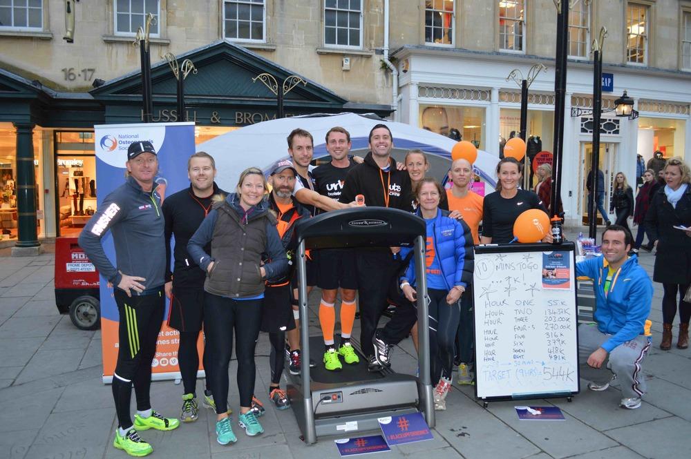Urban Endurance Team Shot 8 hour 52 minutes from Bath to Paris - Row-Bike-Run