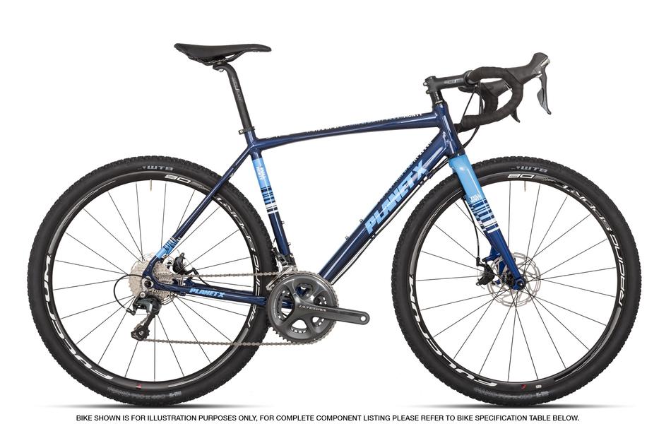 Full Monty - An aluminium framed Gravel Adventure bike for the 50/50 cyclist
